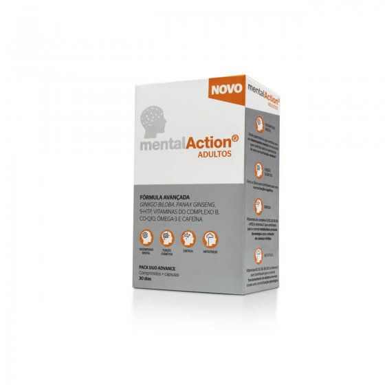 ADULT TABLET MENTALACTION X 30 + CAPSULES X 30
