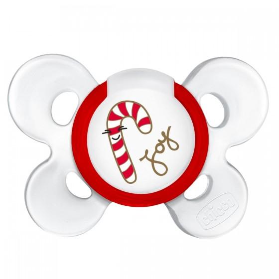 CHICCO Pacifier PHYSIO COMFORT CHRISTMAS 6-12M