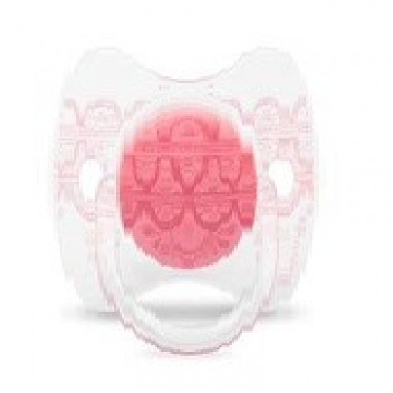 SUAVINEX COUTURE PEACE SILICONE PHYSIOLOGICAL 0-4 MONTHS PINK