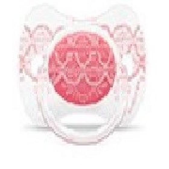 SUAVINEX COUTURE PEACE SILICONE PHYSIOLOGICAL 18 MONTHS + PINK