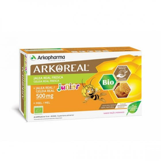 ARKOREAL JUNIOR REAL JELLY BULBS 15ML X 20