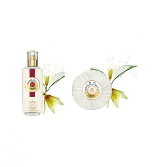 ROGER & GALLET JEAN MARIE FARINA PERFUMED WATER 100 ML WITH SOAP OFFER 100 G