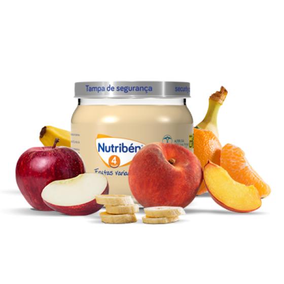 NUTRIBEN BOIAO 4 VARIED FRUIT 120G