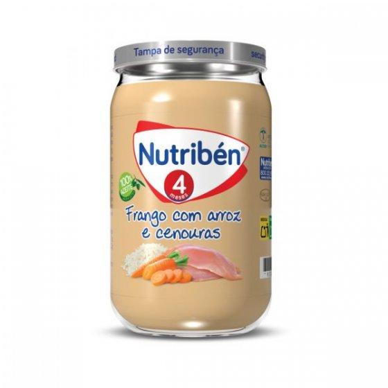 NUTRIBEN BOIAO 4 CHICKEN RICE CARROT 235G