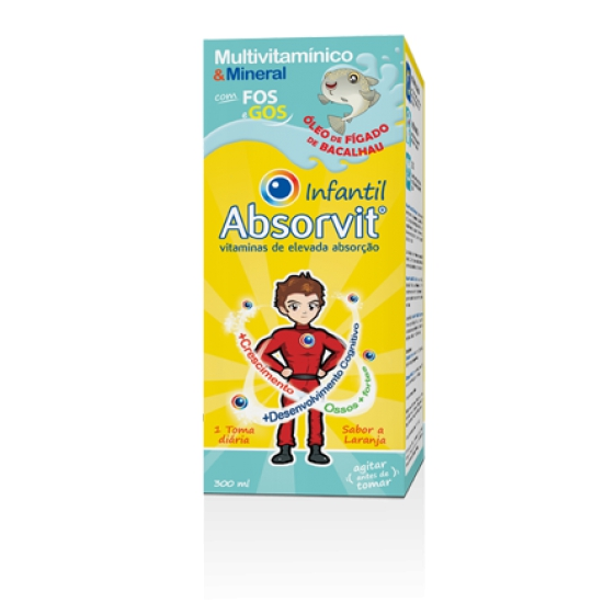 CHILD ABSORVIT SYRUP FIGURE OIL COD 300ML