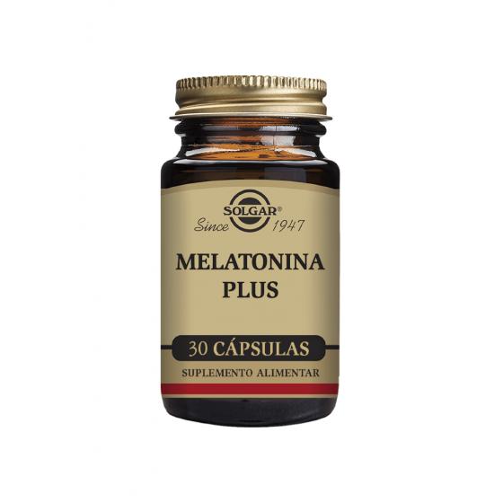 MELATONINE PLUS SOLGAR CAPSULES X 30