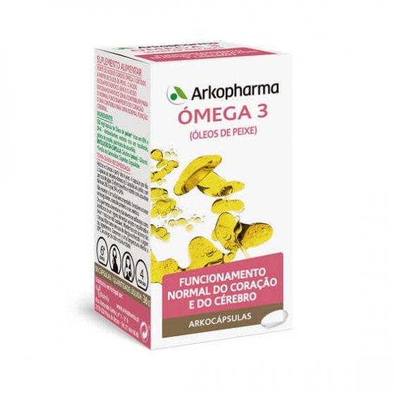 ARKOCAPSULAS OMEGA 3 CAPSULES X 100