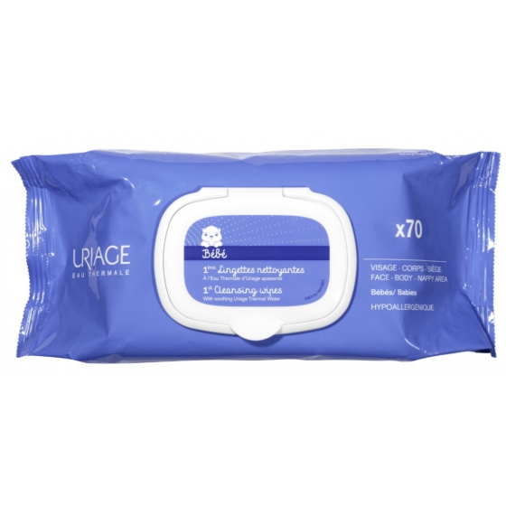 URIAGE DRINKS 1st CLEANING TOWEL X 70